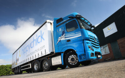 Newly Dual-Branded Hippychick Trailer Takes to the Road