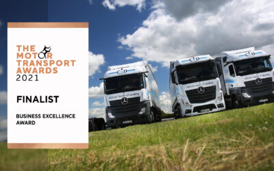 C&D Shortlisted for Business Excellence at Prestigious Motor Transport Awards