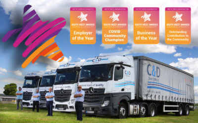 C & D Nominated for 4 Categories in the South West Business Awards!