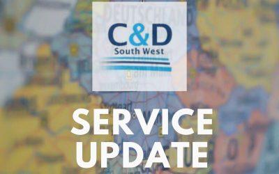 COVID19- Service Levels Update (01/5/20)
