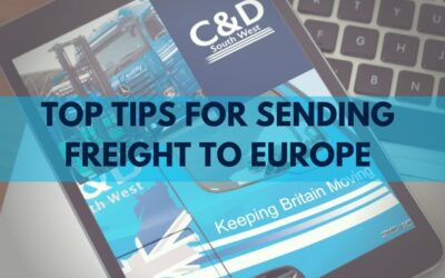 Top Tips for Sending Freight to Europe Post Brexit!
