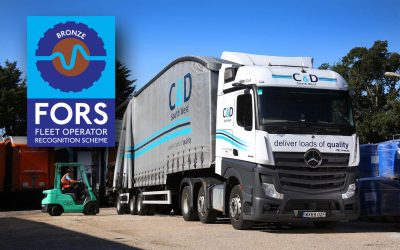 C&D South West Awarded with Industry Recognised FORS Accreditation