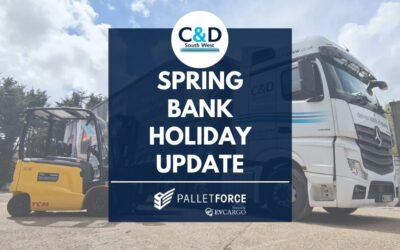Spring Bank Holiday – Service Levels Update (31/05/21)