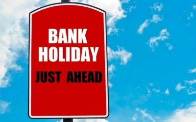 Bank Holiday Update!