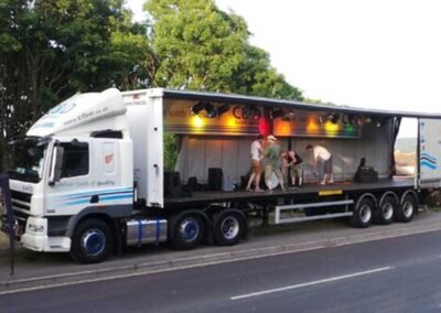 Local Music Mobile Stage Truck
